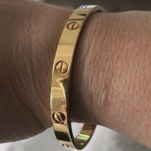 Authentic Cartier Love Bracelet size 19